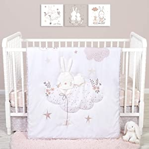 Sammy & Lou Sammy And Lou Cottontail Cloud 4 Piece Crib Bedding Set