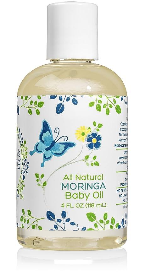 Hipoalergénico, totalmente natural, aceite de Moringa para ...