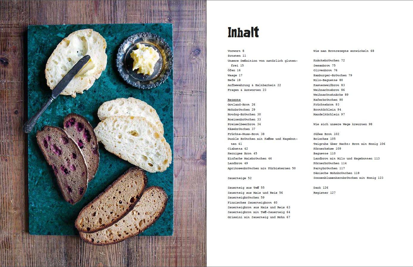 Glutenfreies Brot: Neue Rezepte für gesunden Genuss: Amazon.de ...