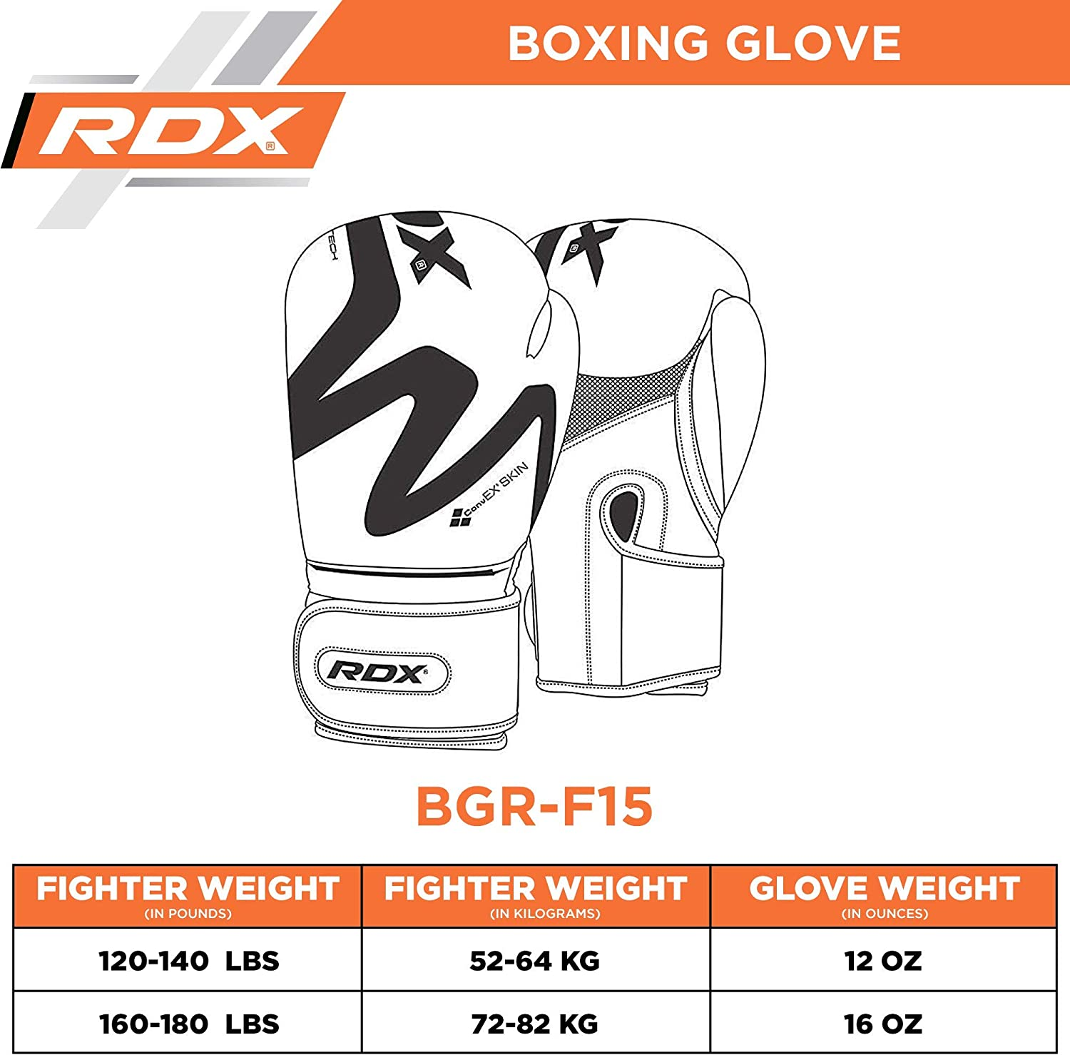 RDX Boxing Gloves for Training Muay Thai Maya Hide Leather Gloves for Sparring Double End Speed Ball Focus Pads Punching Fighting Kickboxing Punch Bags