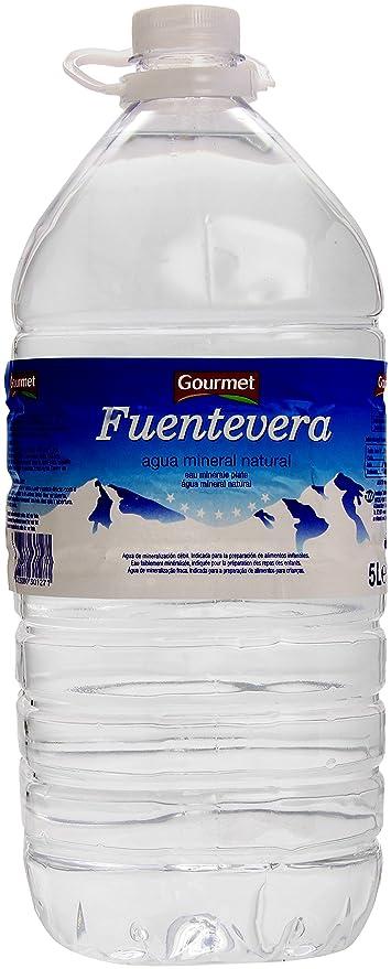 Gourmet Fuentevera Agua Mineral Natural - 5 l