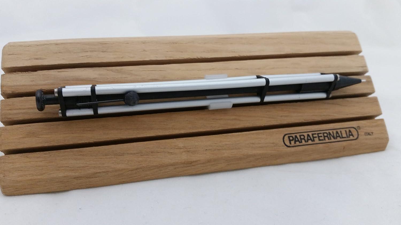 New In Box Made In Italy Parafernalia Revolution Ballpoint Pen Aluminum