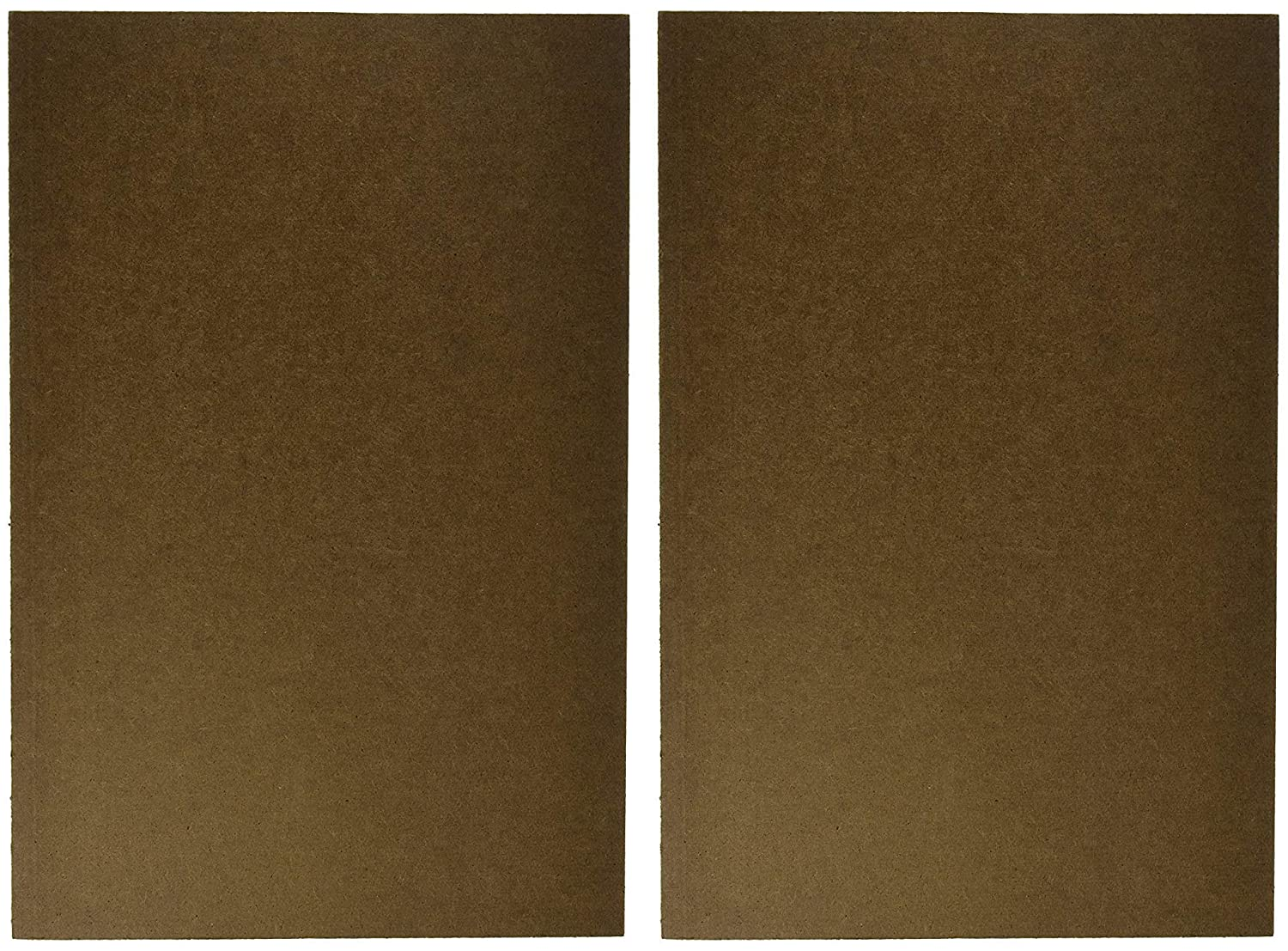 Sax Sketch and Draw Board, 12 x 18 inches, Brown (2-Pack (12 x 18 x 1/4 in))