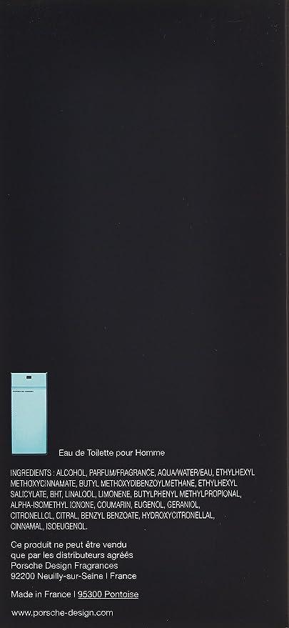 Porsche De Toilette Essence Flacon En The Eau Design Vaporisateur xtsdChrBQ