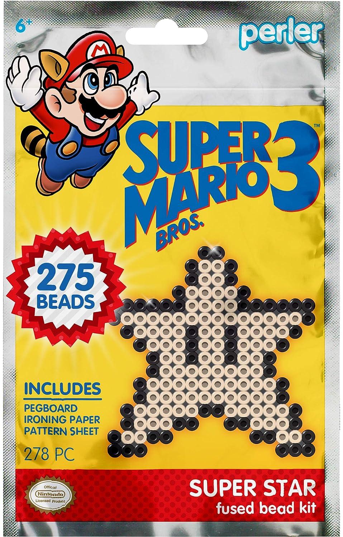 Perler Beads Super Mario Bros Super Star Kit 80-53114