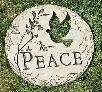 Amazoncom 12 Dove Bird Cut Out Peace Decorative Garden Patio