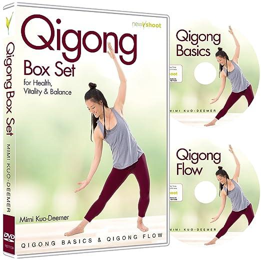 Amazon com: Qigong Box Set (2 DVD's, Qigong Basics & Qigong