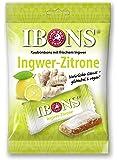 IBONS Kaubonbons 92 g (Ingwer-Zitrone)