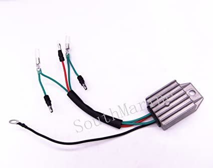 4-Stroke 9.9HP Outboard Voltage Regulator Rectifier for Boat Marine Yachts