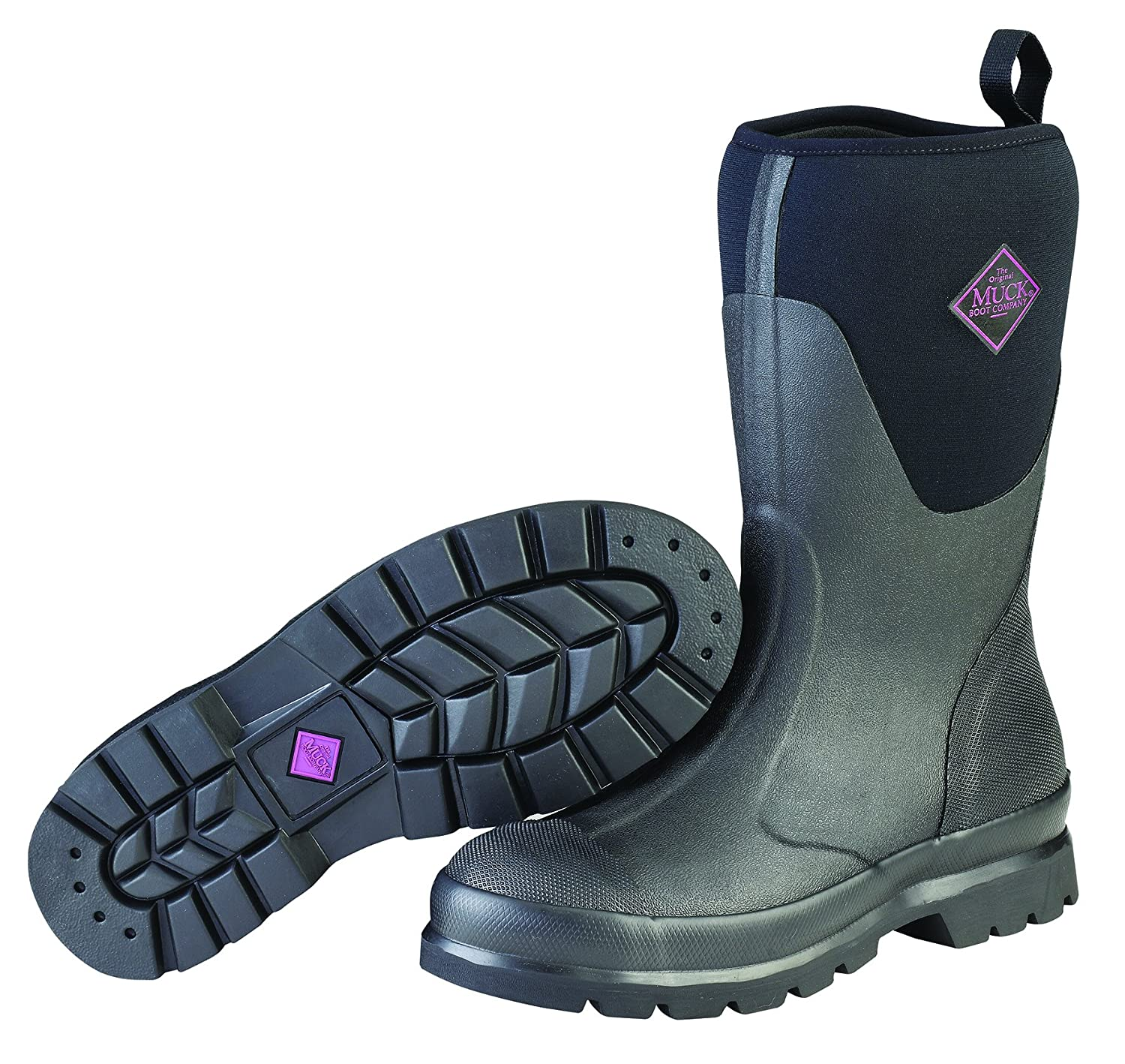 Muck Boot Women's Chore Mid Snow B06VWPV94G 6 B(M) US|Black