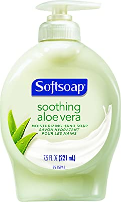 Softsoap Hand Soap, Soothing Aloe Vera, 7.5 Fl Oz