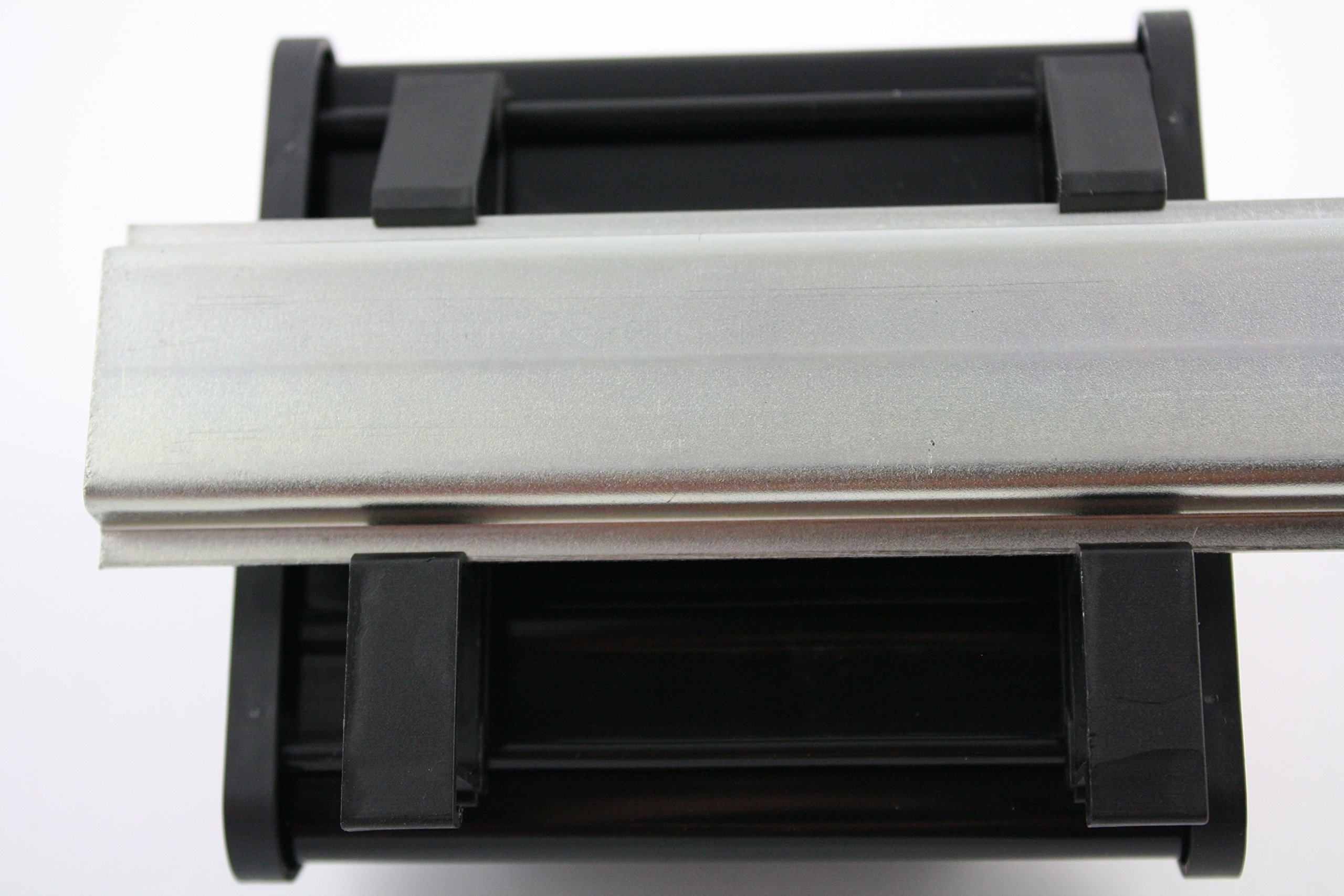 ASI 10005 26 to 12 AWG IMRC34 DIN Rail Mount Interface Module, Flat Ribbon Cable to Wire Transition, 34 Position Ribbon Cable to Terminal Blocks, 3.79'' Length