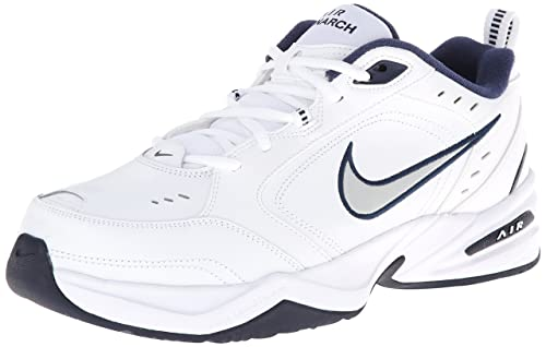 0122bffa865 Nike Men s Air Monarch Iv White Slvr Multisport Training Shoes-10 UK India