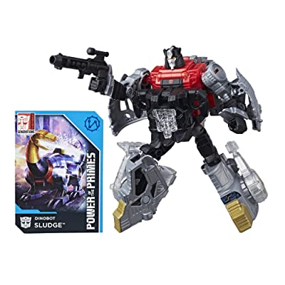 Transformers: Generations Power of the Primes Deluxe Class Dinobot Sludge: Toys & Games