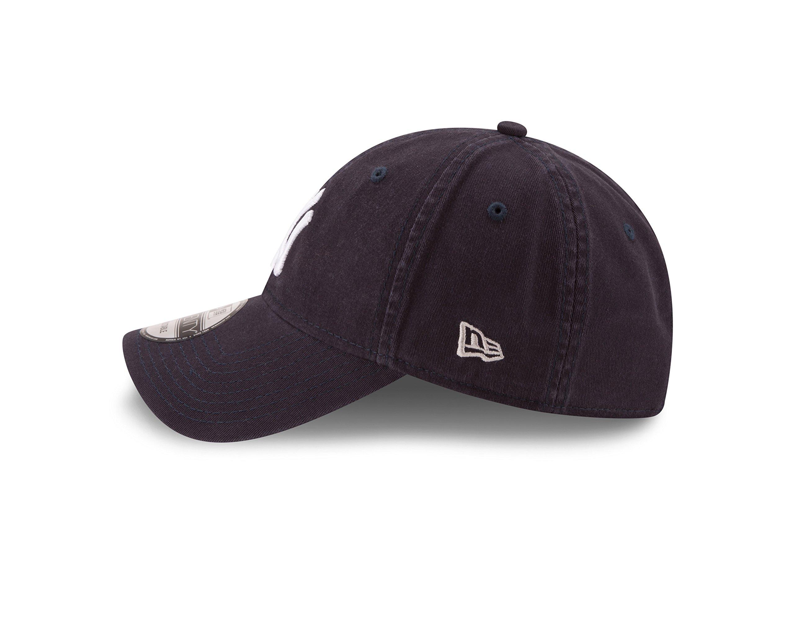 New Era New York Yankees MLB Core Classic 9TWENTY Adjustable Cap Navy by New Era (Image #4)
