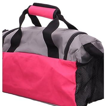5cee0cee0ff4 Puma Unisex s Fundamentals Sports Bag XS Beetroot Purple-Steel Gray ...