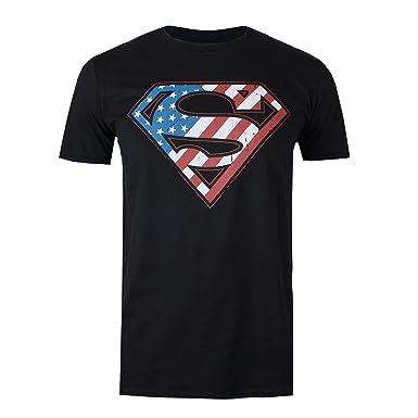 DC Comics Superman Flag, Sudadera con Capucha para Hombre: Amazon.es: Ropa y accesorios