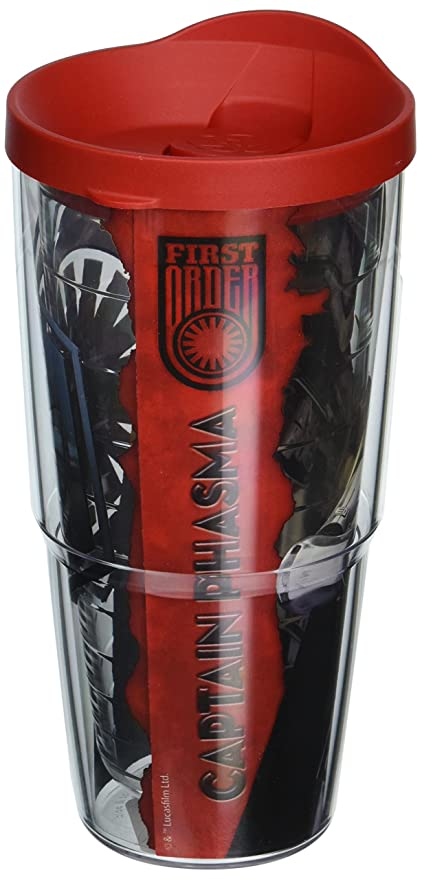 ba50a298388 Image Unavailable. Image not available for. Color: Tervis Star Wars Force  Awakens Plasma Tumbler with Travel ...