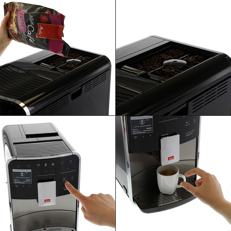 Amazon Melitta F76 0 100 Premium Kaffeevollautomat Caffeo