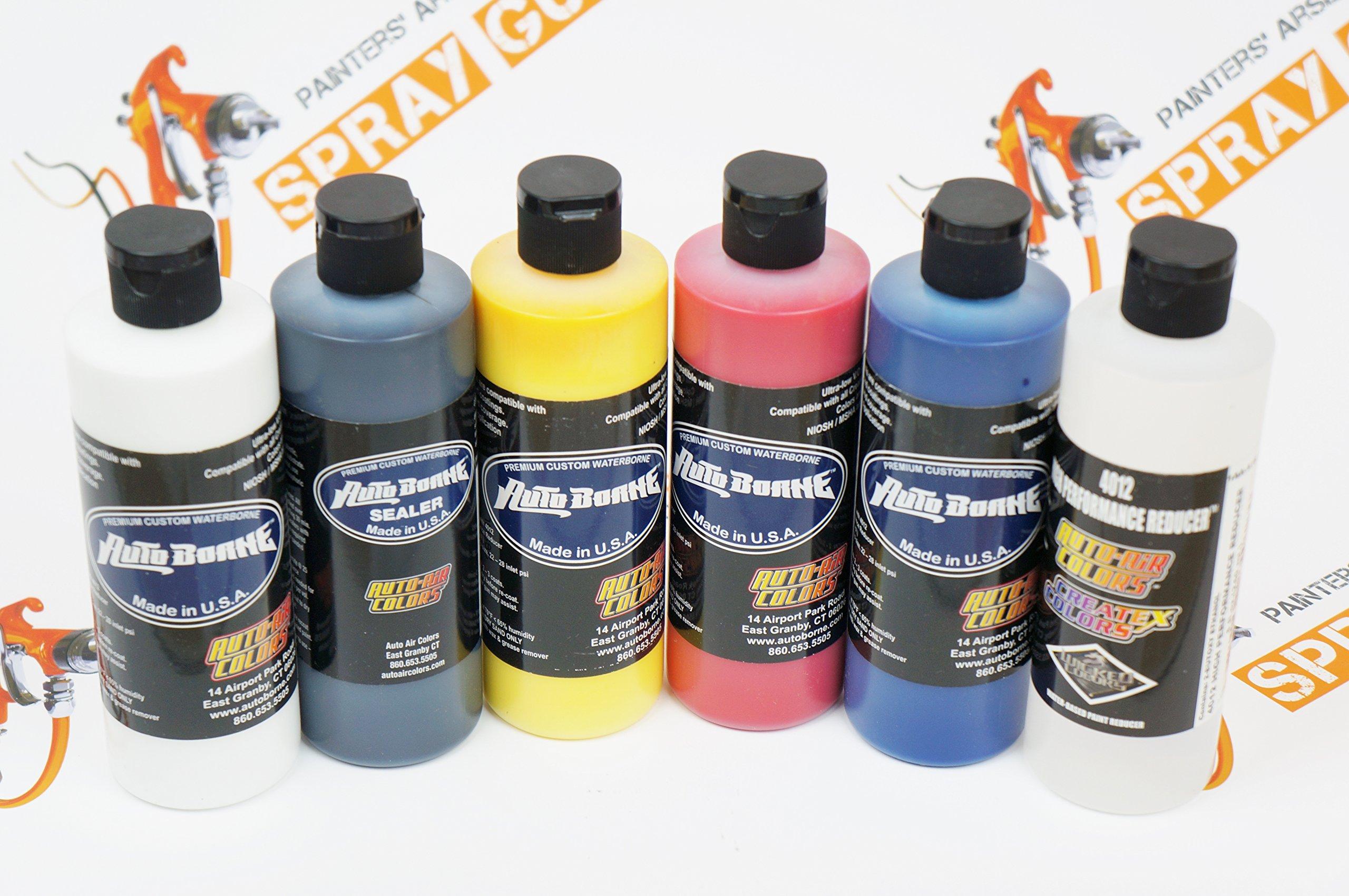 Createx Auto Air colors AutoBorne Primary Sealer Set 8oz
