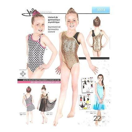 Amazon JALIE PATTERNS Jalie Asymmetrical Gymnastics Leotard Pattern Best Leotard Pattern