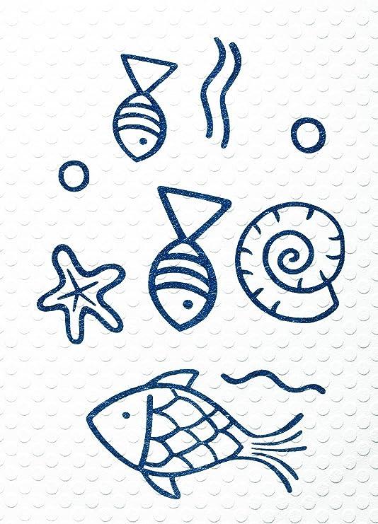 38x72 cm Neptun blau RIDDER 64013S-350 Badewanneneinlage ca