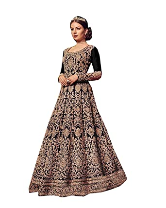 bd12c5bed Amazon.com: Indian/Pakistani Ethnic/Party Wear Long Anarkali Gown for  Womens VN 5902: Clothing