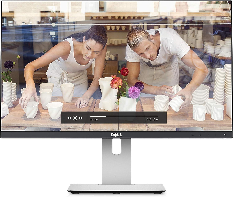 Dell FBA_884116128656 UltraSharp U2414H 23.8 inch Widescreen IPS LCD Monitor (1920 x 1080, 2M:1, 250 cd/m2, 8 ms, HDMI/DP/Mini DP/USB)