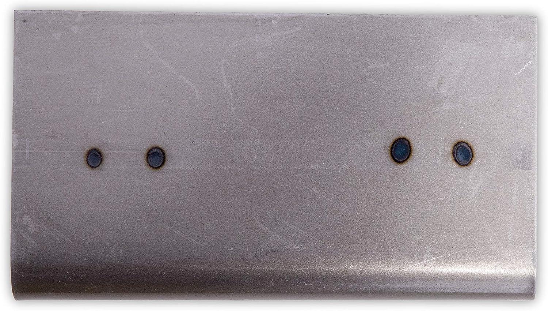 para yeseros y revocadores Dimensiones de Acero 127x64 mm Llana de Esquina Interior de Marshalltown con Radio Cuadrado