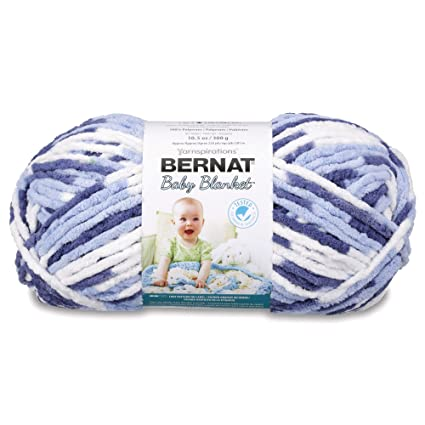 f93a379e771 Image Unavailable. Image not available for. Color  Bernat Baby Blanket Big  Ball Yarn ...