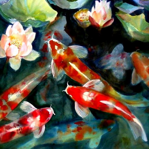 Koi wallpaper jogo amazon appstore for Como criar peces koi