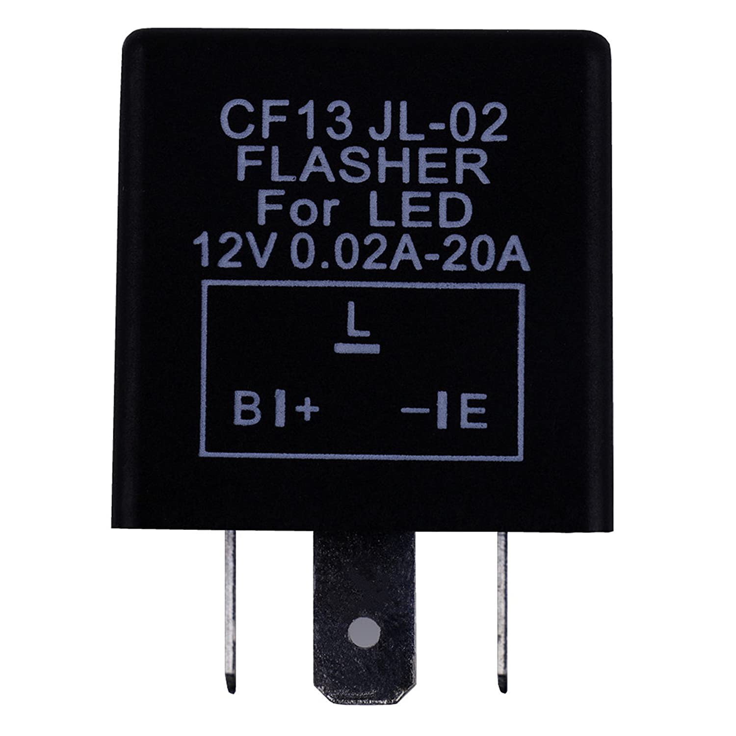 Labbyway 3 Pin Cf13 Electronic Led Flasher Relay For This Give Similar Circuit With The Previous Transistor Related Turn Signal Light Fix Blinker Bulbs Automotive