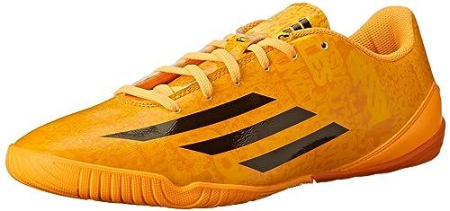 adidas performance maschile f10 indoor messi scarpa da calcio, sole d'oro