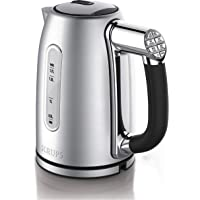 KRUPS BW710D51 Cool-touch Stainless Steel Electric Kettle with Adjustable Temperature, 1.7-Liter, Silver, Stainless…