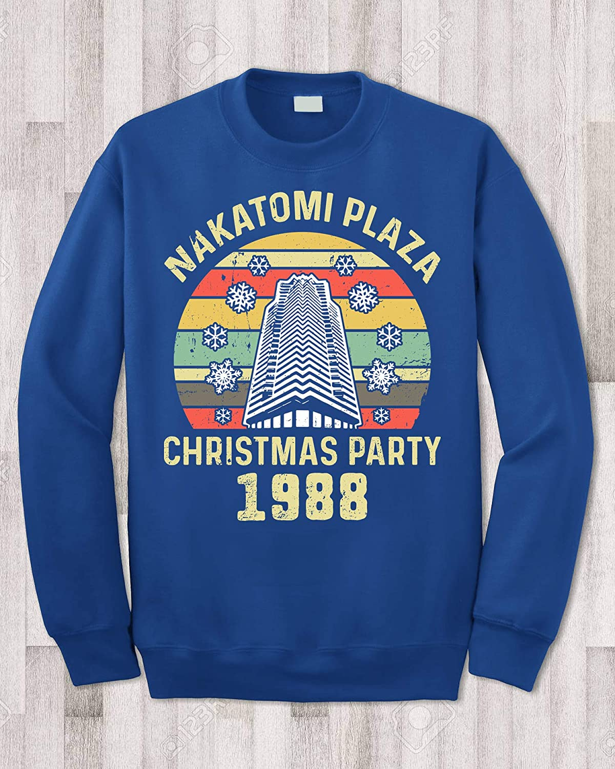 Nakatomi Plaza Christmas Party 1988 Retro Sunset