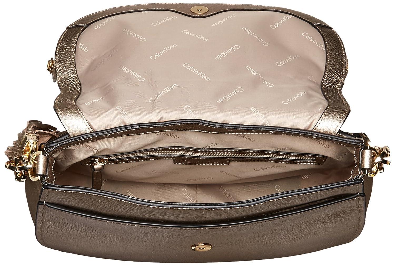 1cc049ff2b2 Calvin Klein Lynn Pebble Flap Hobo Shoulder Bag: Amazon.in: Clothing &  Accessories
