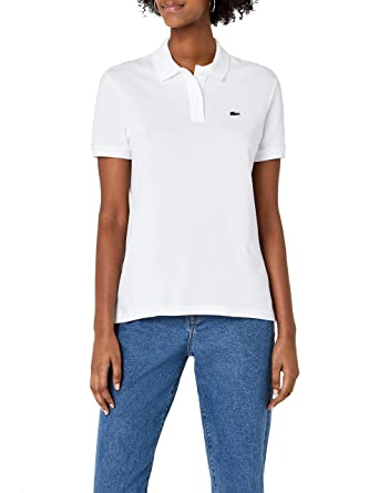 482106d29d Lacoste PF7839 Polo, (Blanc), (Taille Fabricant: 32) Femme