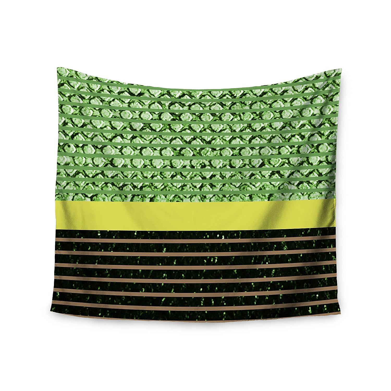 Kess InHouse Trebam Stablo Green Abstract Wall Tapestry 51 x 60