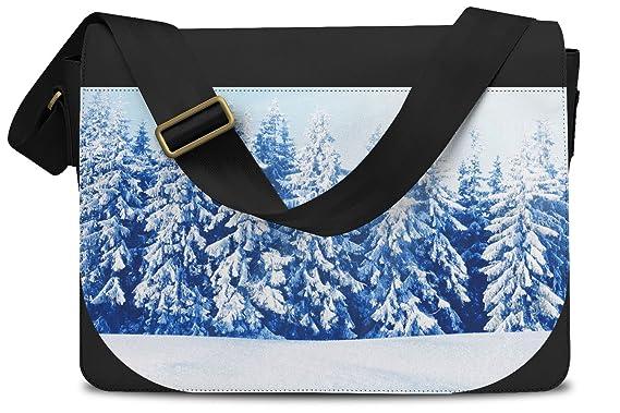 ccb1726302f3 Winter Sun Landscape Messenger Bag - One Size Messenger Bag