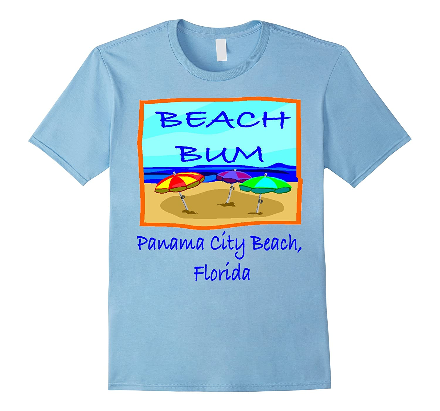 Beach Bum Panama City Beach Florida tee shirt-CD