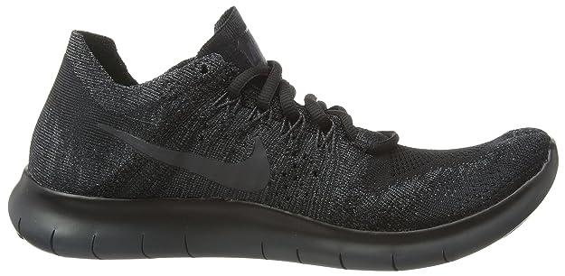 Details about Nike Men's Free RN Flyknit Running BlackTotal Crimson 831069 108 Sz 13