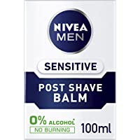 NIVEA MEN Post Shave Balm for Sensitive Skin, 100ml