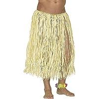 Widmann Gonna Hawaiana in Rafia Color Paglia