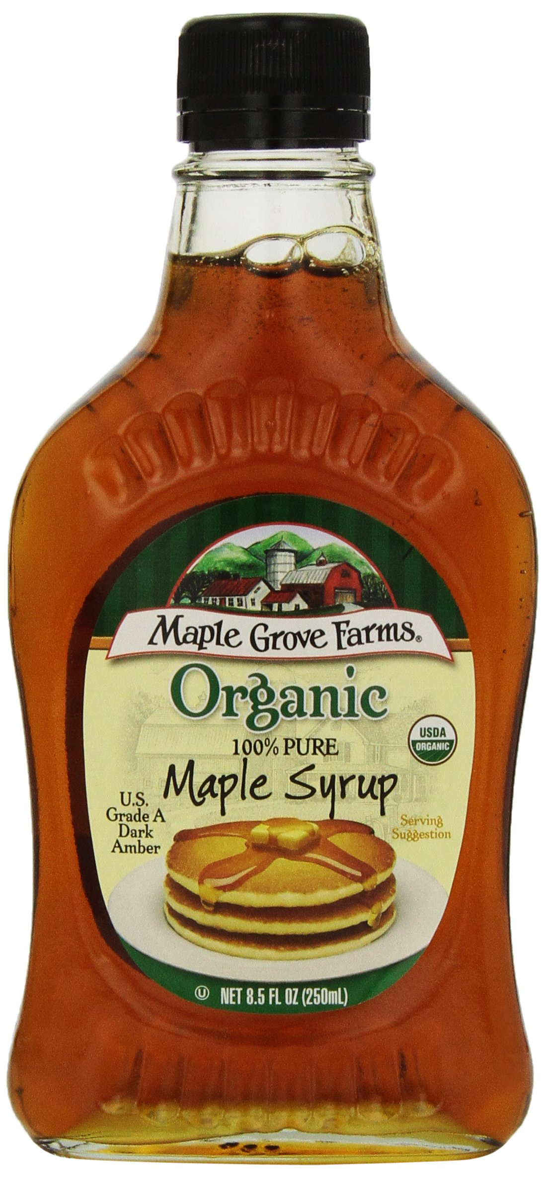 Organic Grade A Maple Syrup 8.50 Ounces (Case of 12)