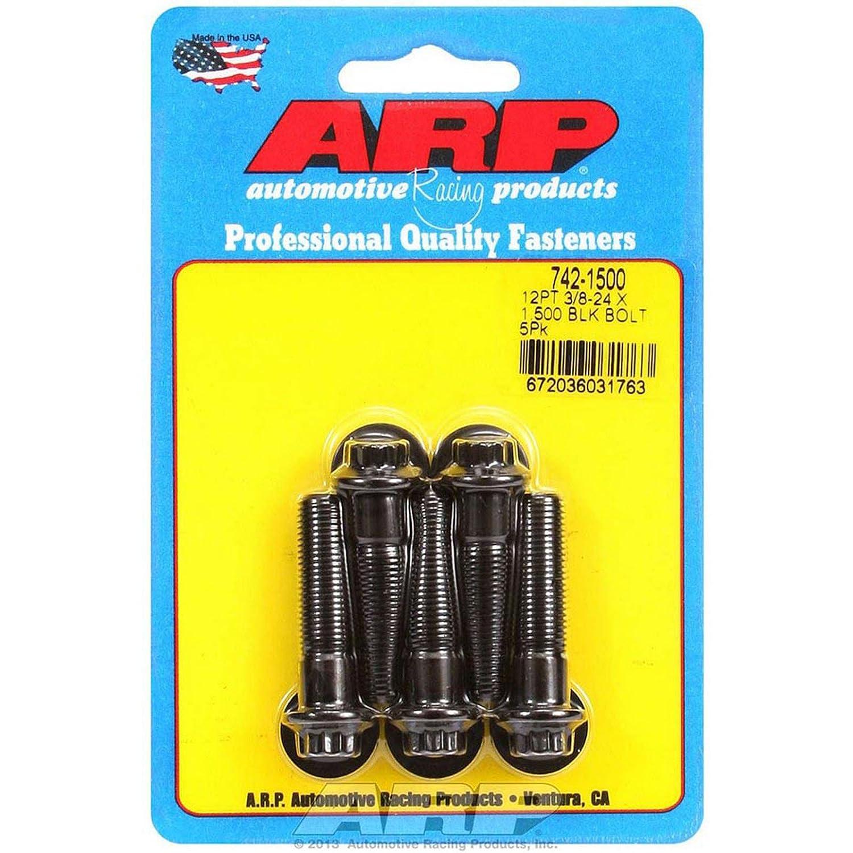 ARP 742-1500 Bolt Kit - 12pt. (5) 3/8-24 x 1.500