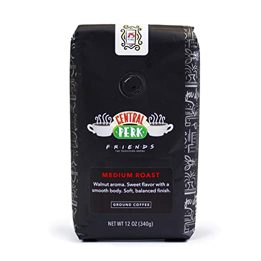 """Friends"" 25th Anniversary Limited Edition Central Perk Medium Roast Ground Coffee 12 oz Bag"