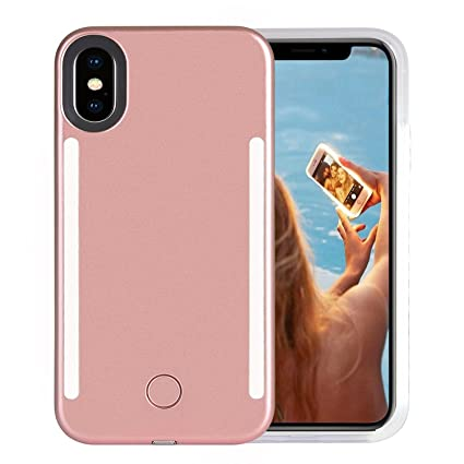Amazon.com: Wellerly iPhone Xs Max Funda, LED iluminado ...