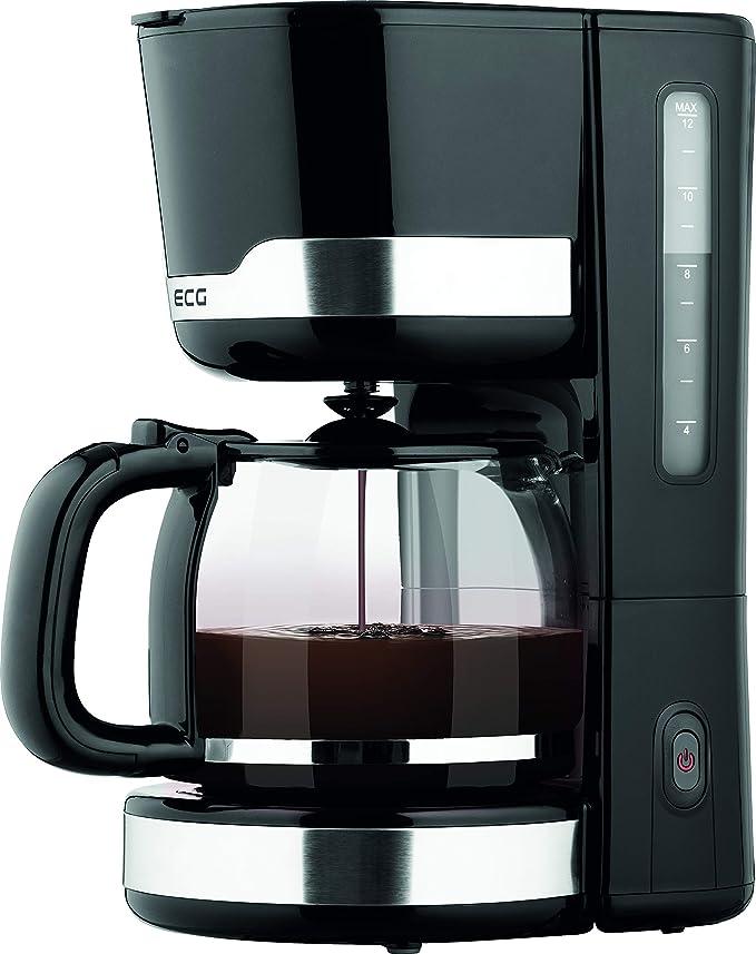 ECG KP 2115 Black - Cafetera de goteo (plástico, 1,5 L): Amazon.es: Hogar