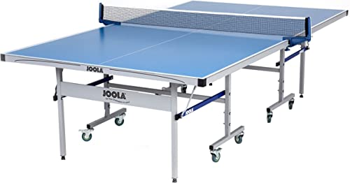 JOOLA NOVA – Outdoor Table Tennis Table with Waterproof Net Set – 10 Minute Easy Assembly – All Weather Aluminum Composite Outdoor Ping Pong Table – Tournament Quality – Indoor Outdoor Compatible