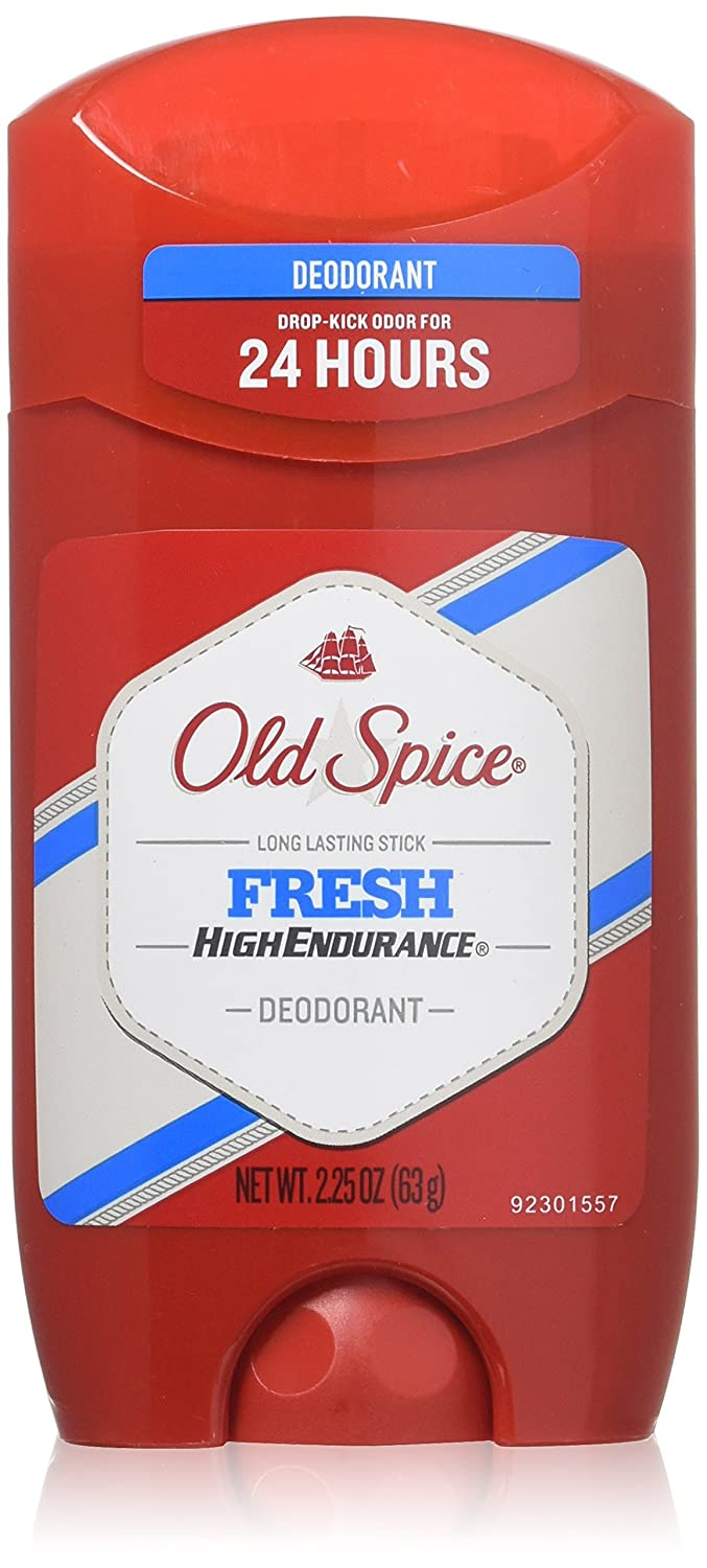 Old Spice High Endurance Deodorant Long Lasting Stick Fresh 2.25 oz Pack of 8